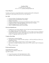Resume Sample Office Manager by Free Legal Administrative Assistant Resume Template Sample Ms Word