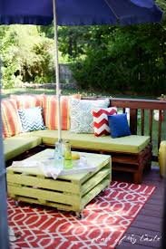 building a sectional sofa diy pallet furniture a patio makeover