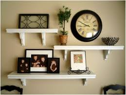 floating wall shelving display ideas cool floating shelf