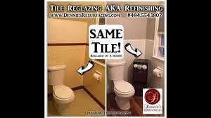 tub u0026 tile reglazing refinishing infomercial by dennie u0027s