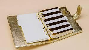 wedding planner journal wedding journal planner gold set dividers a5 index a6 planner