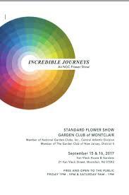 standard flower show 2017 the garden club of montclair inc
