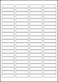 46mm x 11mm blank label template microsoft word eu30049