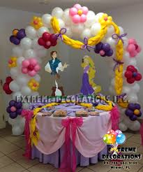 Decorate Table For Birthday Party Rapunzel Birthday Party Ideas Of Rapunzel Tangled Cake Table