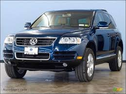 volkswagen touareg blue 2004 volkswagen touareg v8 in shadow blue metallic 040915 auto