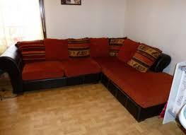 canapé d angle marron chocolat canapé d angle orange et marron votre inspiration à la maison
