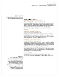 Moving Resume Sample by Simple Resume Templates 75 Examples Free Download