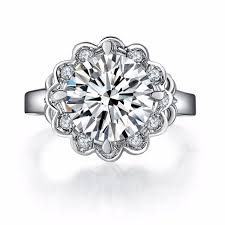 sunflower engagement ring fabulous brilliant sunflower ring affordable brand jewelry 4ct