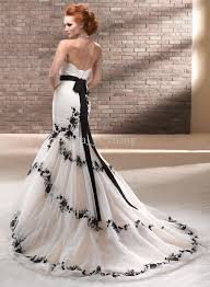 black and white wedding dresses wedding gowns black and white favorable fashion fuz