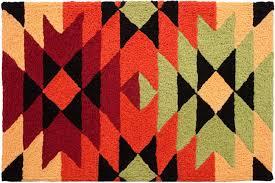 Aztec Kitchen Rug Amazon Com Aztec Blanket Doormat Jellybean Rug Atztec Rug