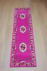 Pink Runner Rug Fetching Pink Runner Rug Rugs Design 2018