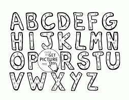 alphabet coloring pages for kids letters printables free wuppsy com