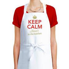 Men Cooking Aprons Amazon Com Nana Apron Nana Cooking Gift Keep Calm Nana U0027s In