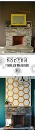 mid century modern fireplace update east coast creative blog