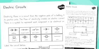 electric circuits worksheet australia electric circuits