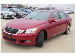 red lexus 2008 pre owned 2008 lexus gs 350 4d sedan in crystal lake av28340a