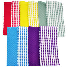 dish cloths pack set of 16 kitchen wash towels cleaning drying by