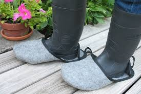 dirty riding boots bigfoot pushover slippers