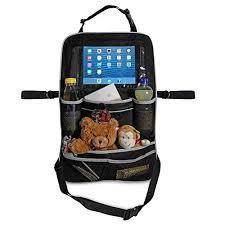 tablette pour siege auto organiseur de siège premium pour tablettes et sac de siège