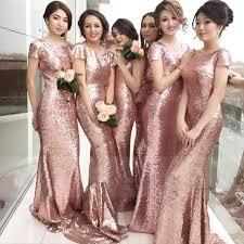 gold color bridesmaid dresses 40 gold metallic wedding color ideas