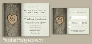 tree wedding invitations tree wedding invitations vintage rustic wedding invitations