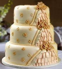 golden wedding cakes golden wedding cakes the wedding specialiststhe wedding specialists