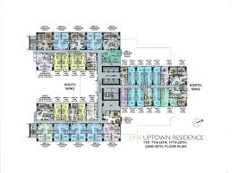 floor layouts floor plans unit layouts one uptown residence uptown
