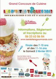 affiche atelier cuisine concours de cuisine enfants et adolescents 2013 ateliers ile de
