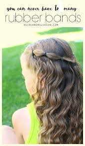 hairstyles with one elastic 25 girl hair styles for toddlers and tweens a girl and a glue gun