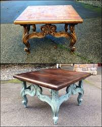 oak end tables and coffee tables best 25 coffee table refinish ideas on pinterest paint wood