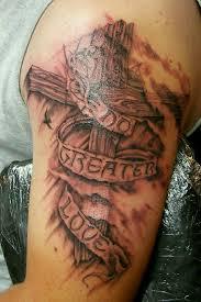wooden cross tattoo tattoo pinterest wooden crosses wooden