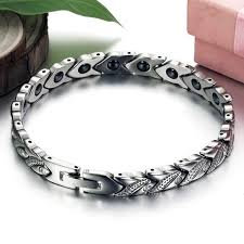 bracelet health magnetic images Tungsten steel women 39 s health energy magnetic bracelet buycoolprice jpg
