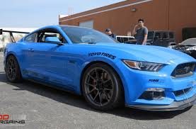 racing tires for mustang s550 mustang gt gets forgeline ga1r wheels