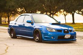tuned subaru subaru impreza wrx sti subaru tuning blue to hd wallpaper