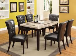 marble and espresso 5 piece dining set montreal rc willey