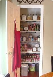 short on kitchen space turn hall closet into pantry i think