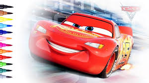 cars 3 drawing and coloring lightning mcqueen coloring pages