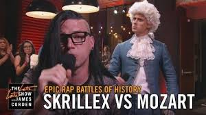 Rap Battle Meme - video epic rap battles of history skrillex vs mozart live