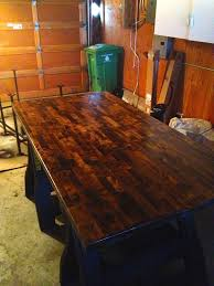 building the perfect custom desk staining