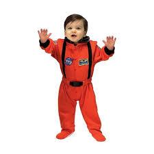 Boy Infant Halloween Costumes Nasa Orange Jr Astronaut Suit Infant Halloween Costume Walmart
