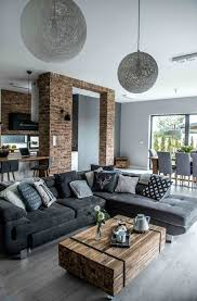 guys home interiors 45 nordic style interior designs gray color bricks and nordic