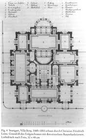 Plan Ground Floor Christian Friedrich Von Leins Villaberg Ground Plan Of The