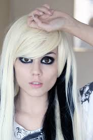 sissy hairstyles blond emo girl look candyabuse