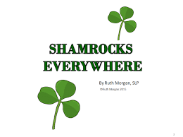 chapel hill snippets shamrocks everywhere a printable book