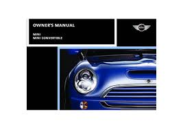 2008 mini cooper convertible owners manual just give me the damn