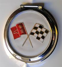 1963 corvette emblem 1963 design corvette roller gas filler door assembly