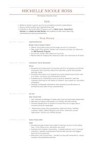 Example Of Cashier Resume by Cashier Server Resume Samples Visualcv Resume Samples Database