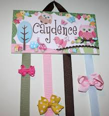 hair bow holders hair bow holder personalized sweet owl hairbow holder