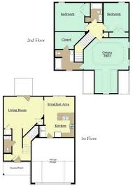 2 Story Open Floor Plans by Anderson Communities Sutton Place Homes For Rent