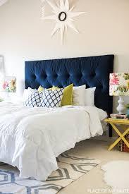 diy headboard 12 diy headboards for homeowners who love colors